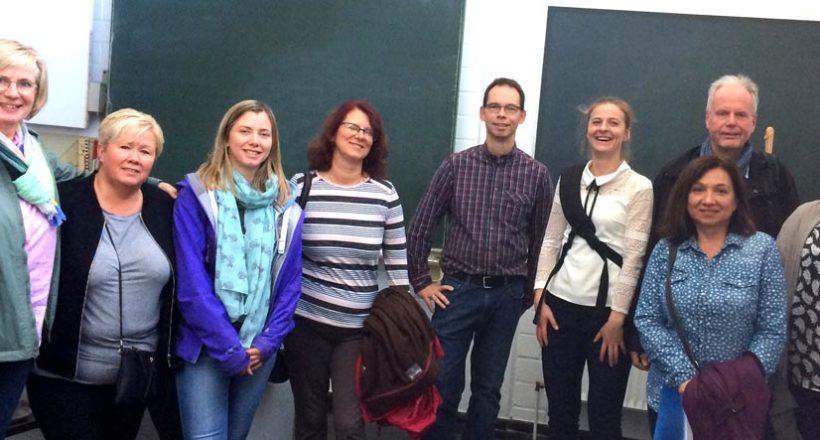 Internationale Erasmus Austauschlehrer besuchen das HBU