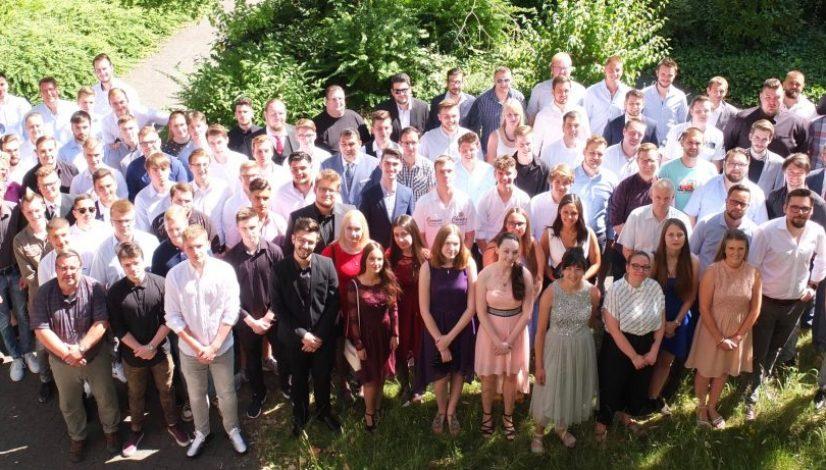 Abschlussfeier mit Zeugnisübergabe FHR (ITAO, GTAO, BFTM, FSM, FSI) in der Aula